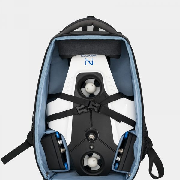 Mito Travel Backpack and towel