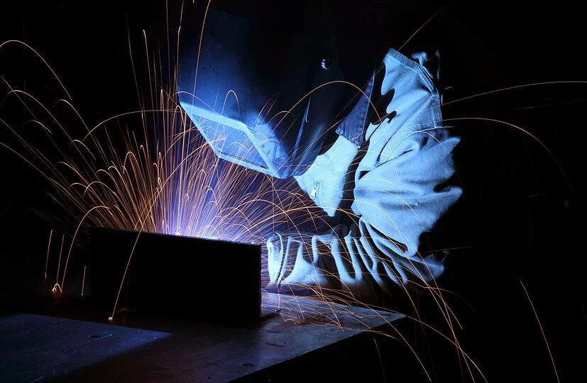 Welder with sparks orig